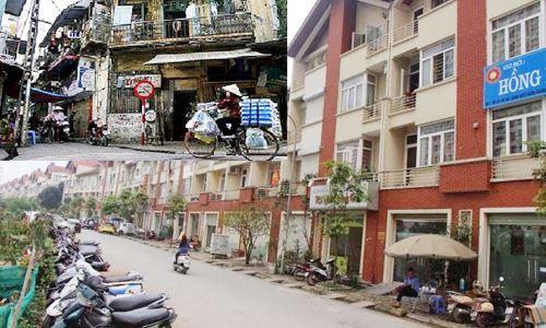 nhà phố cổ Hà Nội