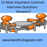 Most Important Common Interview Questions and Answers  by Multinational Company HR?