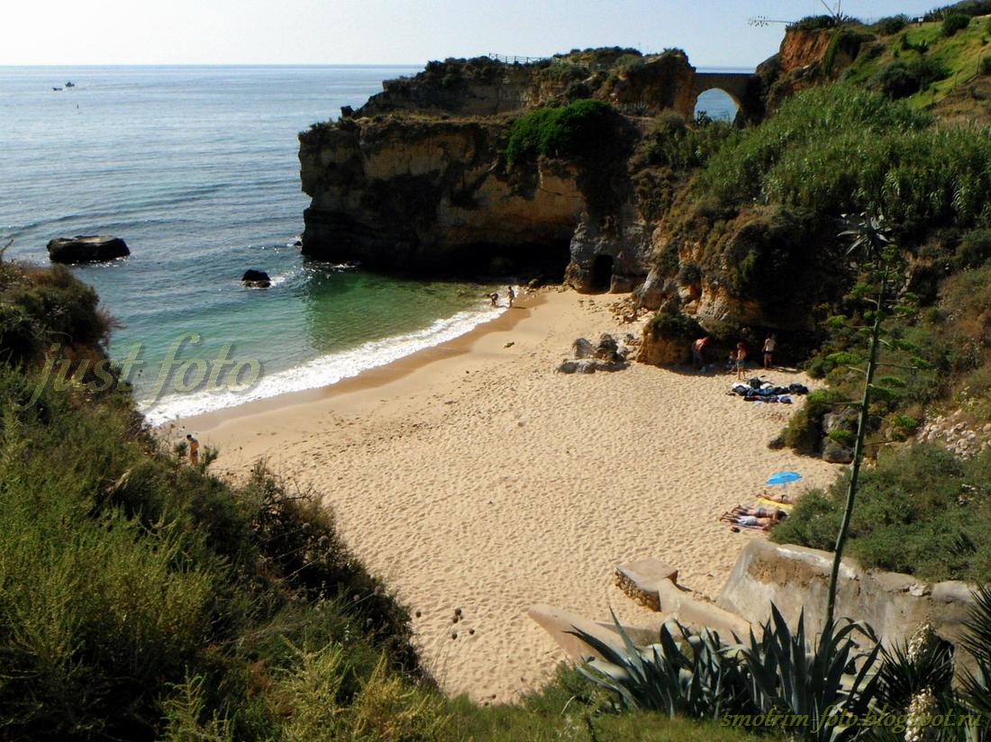 Лагуш Praia do Pinhao фото