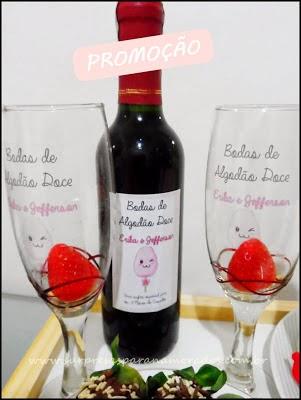 kit vinho para namorados