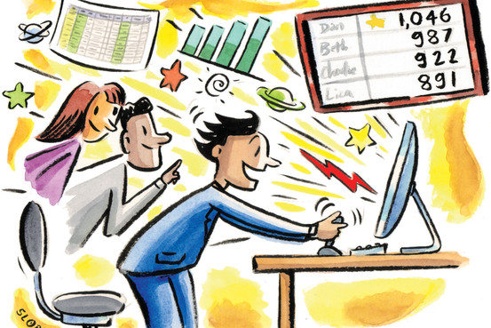 Gamification in the Workplace Boasts Huge Wins