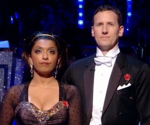 Brendan & Sunetra wearing their poppies