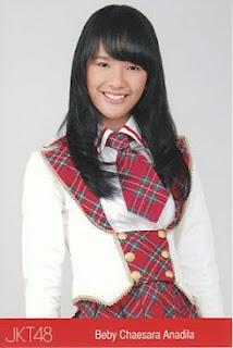profil  Beby Chaesara Anadila jkt48