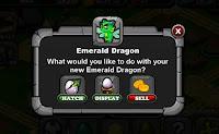 Dragonvale Breeding Emerald.