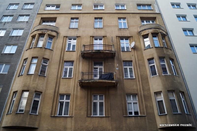 Śródmieście Warszawa centrum kamienice kamienica architektura