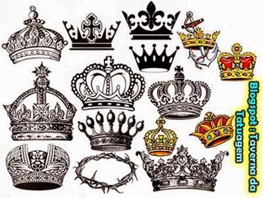 Desenhos para tatuagens de coroa ideias