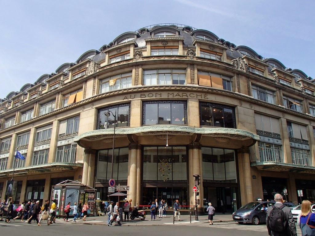 Vis ma vie paris le bon march le 1er grand magasin - La redoute magasin paris ...