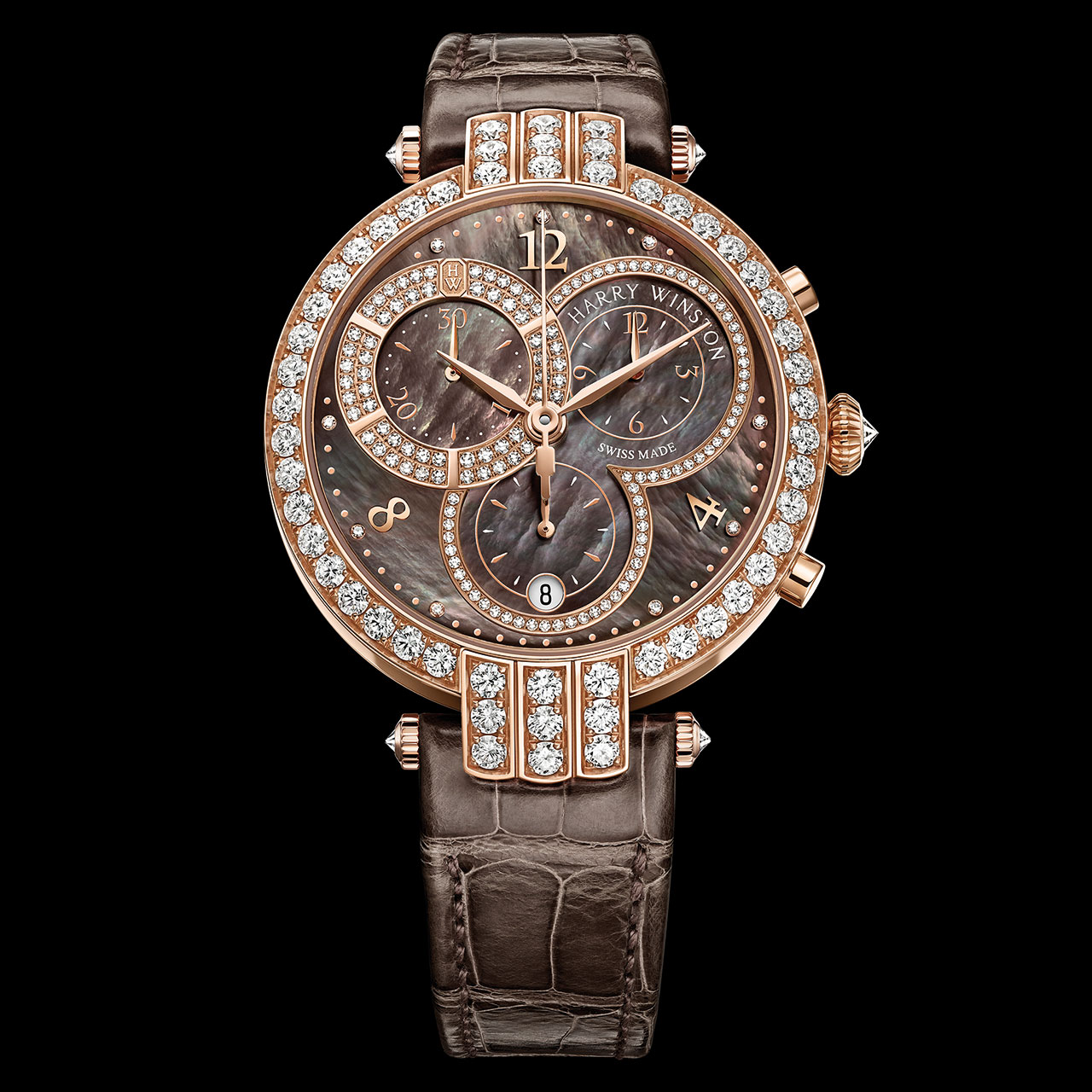 Harry Winston Premier Lady Chronograph Watch
