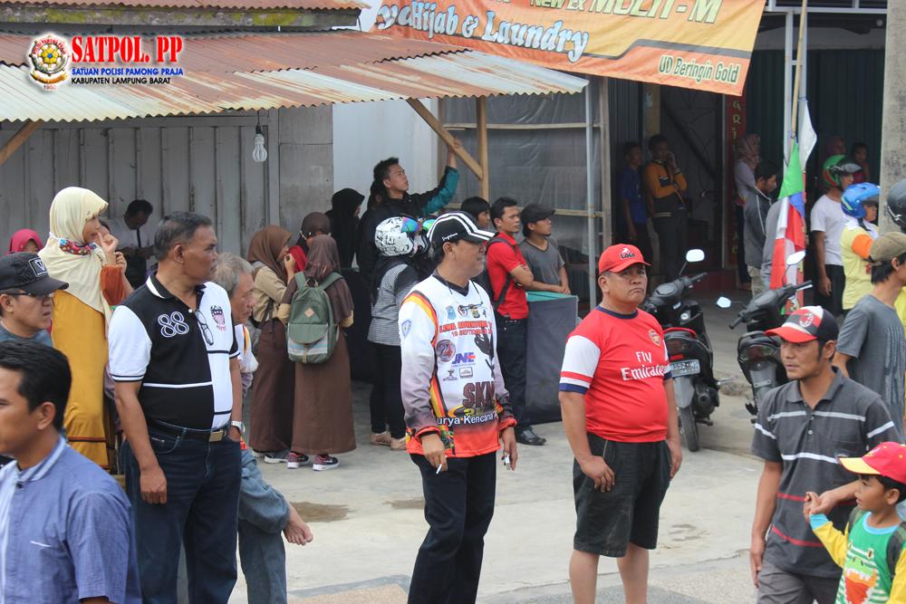Bencana Kebakaran Pasar Liwa Lampung Barat