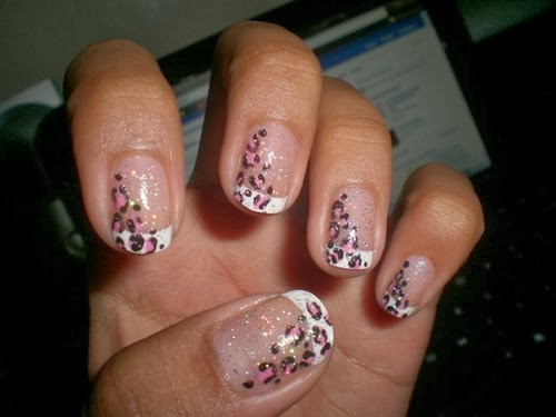 Zebra and Cheetah Nail Designs - Zebra And Cheetah Nail Designs Nail Art Ideas 101