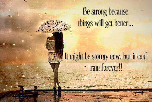 rain and sun set Rain Quotes Wallpapers