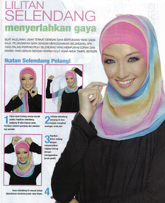 Tutorial Jilbab Modern Islam Cad High A Jijab Style Fashion