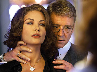 Catherine Zeta Jones y Russell Crowe en la primera imagen de Broken City