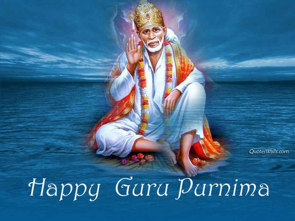 Guru Purnima Sai Baba HD Wallpapers