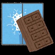 家具が倒れて窓を割るイラスト(事故)
