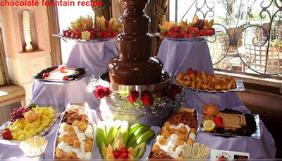 chocolate fountain recipe