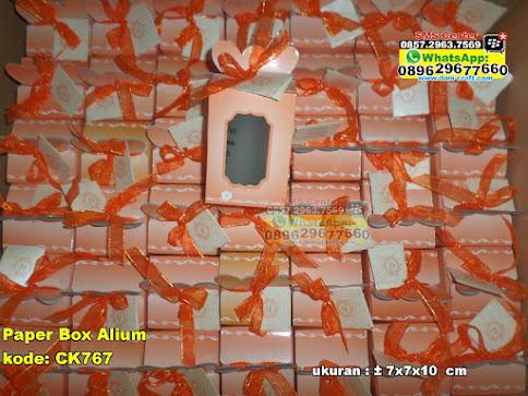Paper Box Alium unik