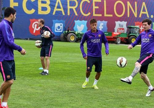 Messi, Suarez & Neymar