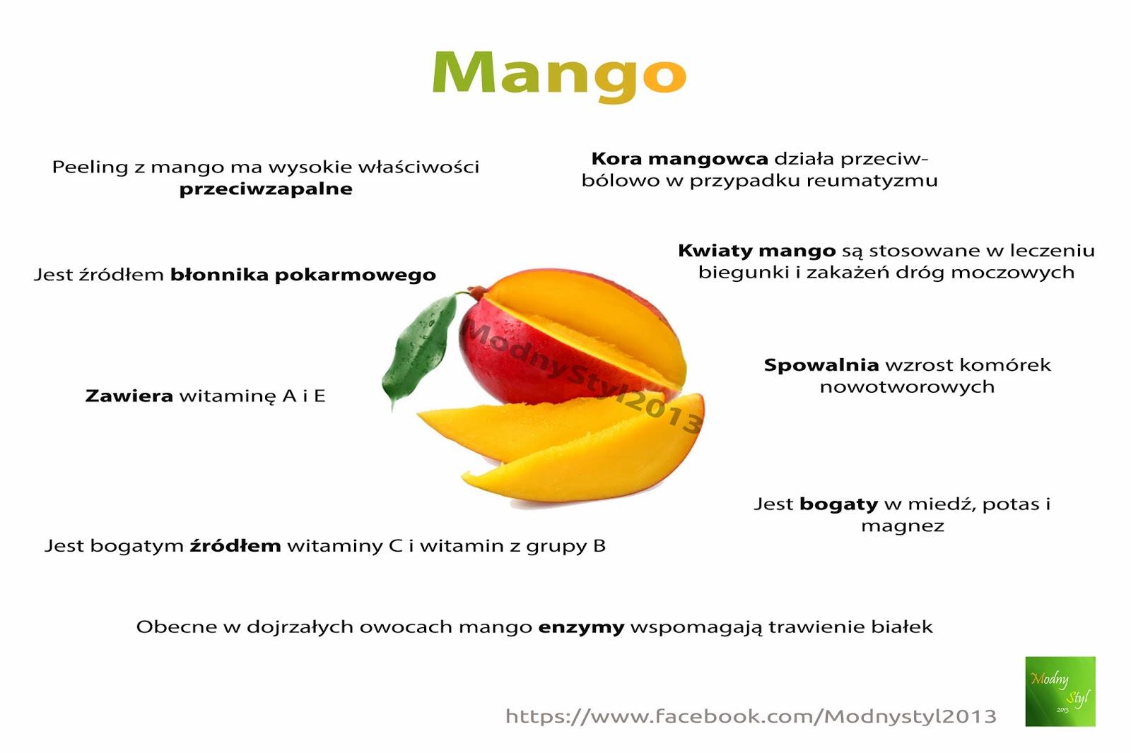 Warto jeść MANGO