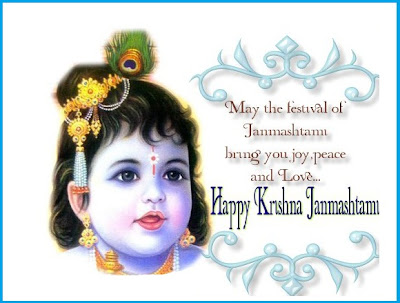Janmashtami of Shree Krishna 2012 Date Songs Wallpapers Pictures/Images Festival India wishes