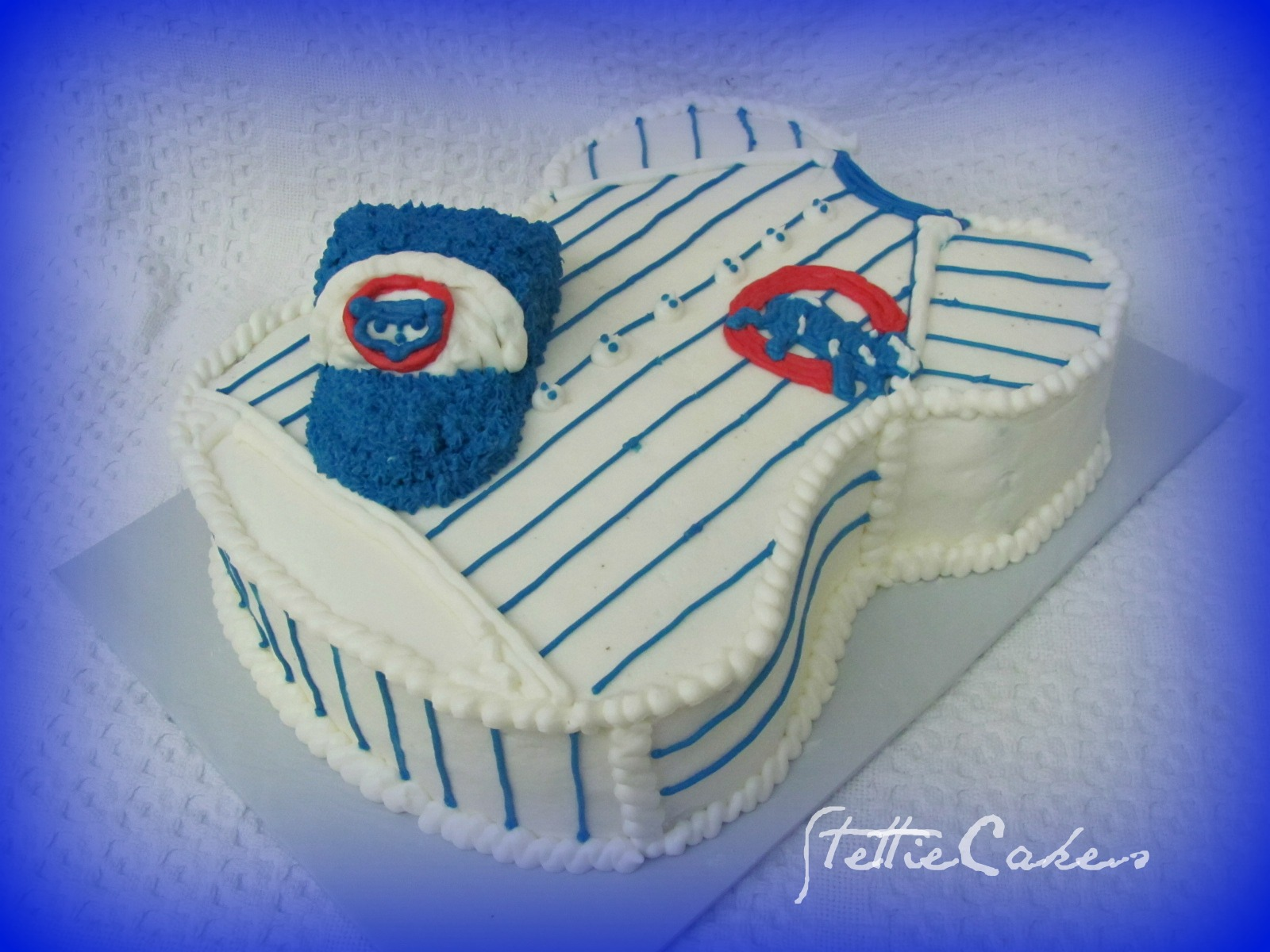 Stettie Cakes Cubs Baseball Jersey