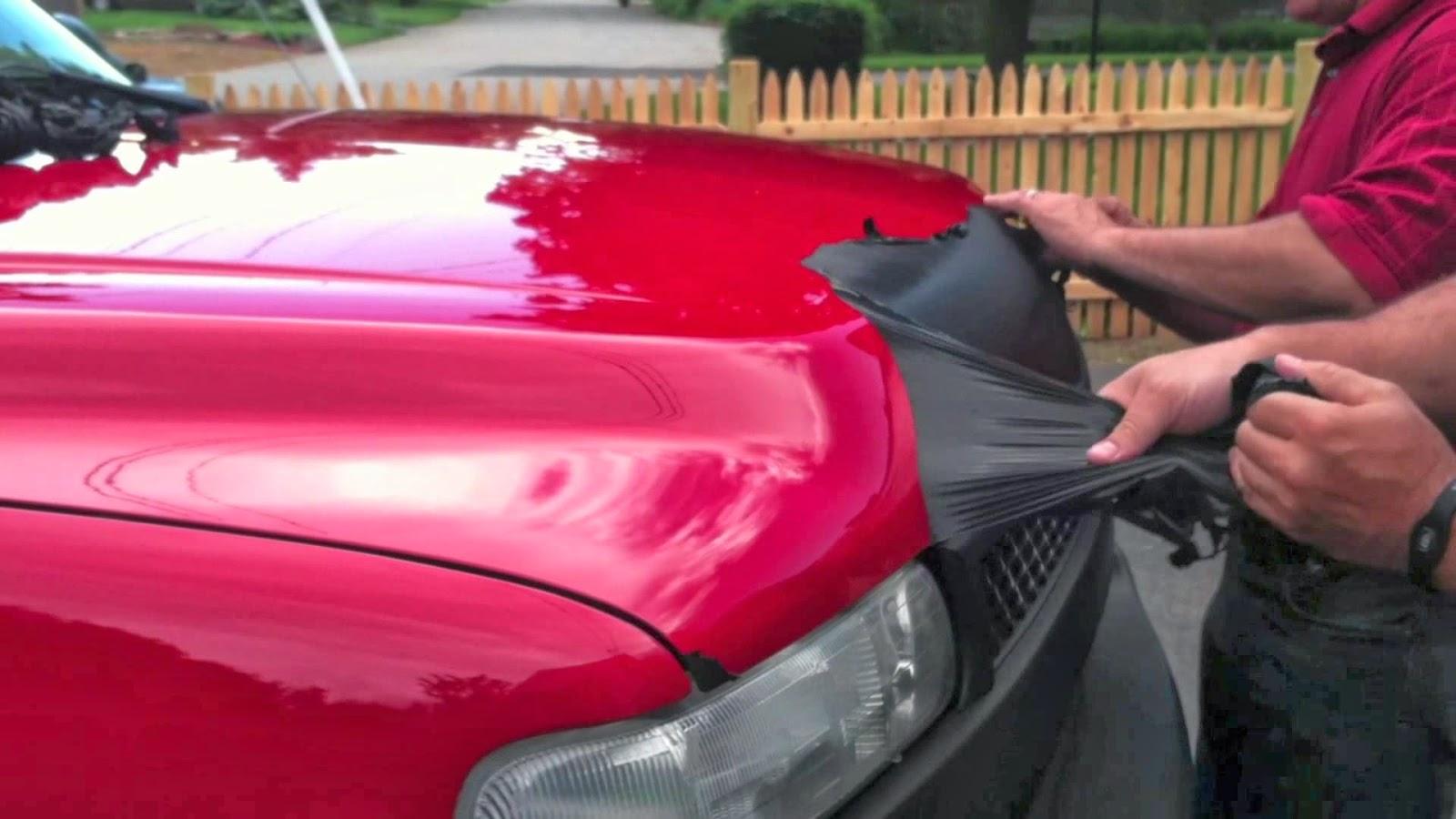 Покраска автомобиля своими руками пластика