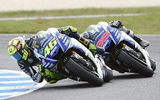 MotoGP Malaysia 2015: Rossi Wajib Finis Depan Lorenzo