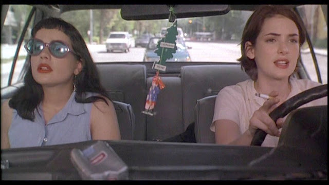 Janeane Garafalo and Winona Ryder in Reality Bites via Lexi DeRock at voluptuous Vintage Vixen