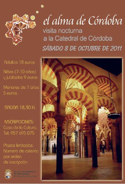 Onda menc a radio visita nocturna a la mezquita de c rdoba - Mezquita de cordoba visita nocturna ...