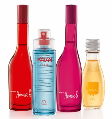 Kit de perfumes miniatura da NATURA - Natal 2013