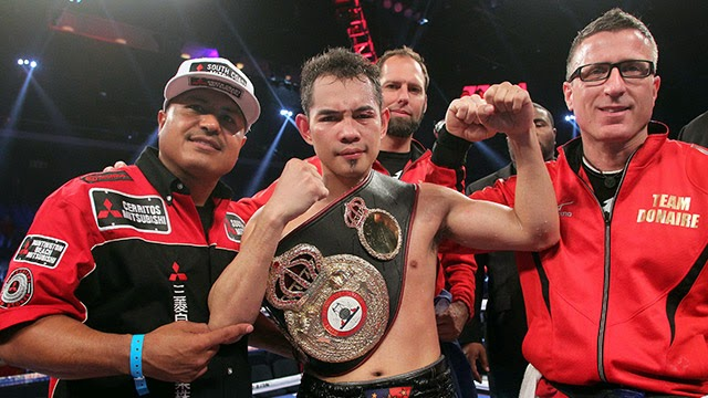 Donaire vs. Vetyeka WBA world featherweight match