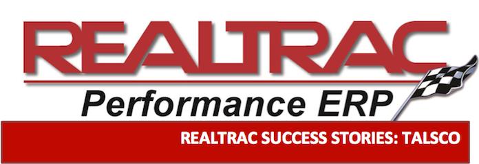 Realtrac ERP Software Logo Banner