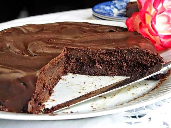 Torta de chocolate apta para celíacos