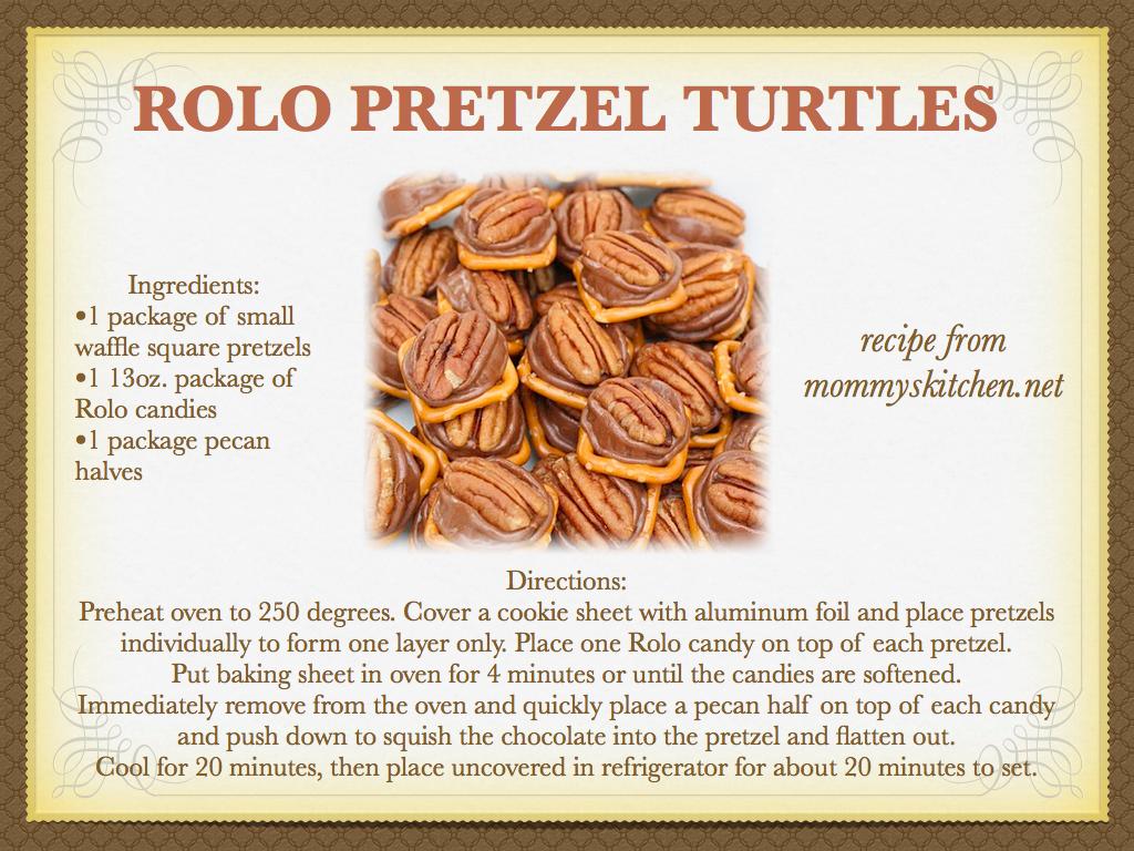 MC Squared: Rolo Pretzel Turtles