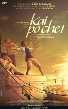 Kai Po Che Movie Review