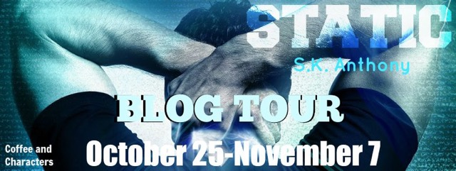 Blog Tour - Static by S.K. Anthony