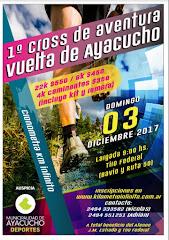 1º VUELTA DE AYACUCHO - CROSS AVENTURA - 3/12/17
