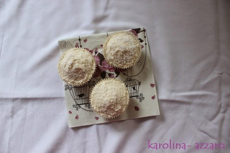Kokosovo ananasové Cupcake (the hummingbird bakery)