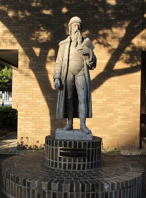 Gutenberg statue Wayne State University Detroit