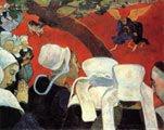 Paul Gauguin (40 años) - Visión después del sermón (1888)