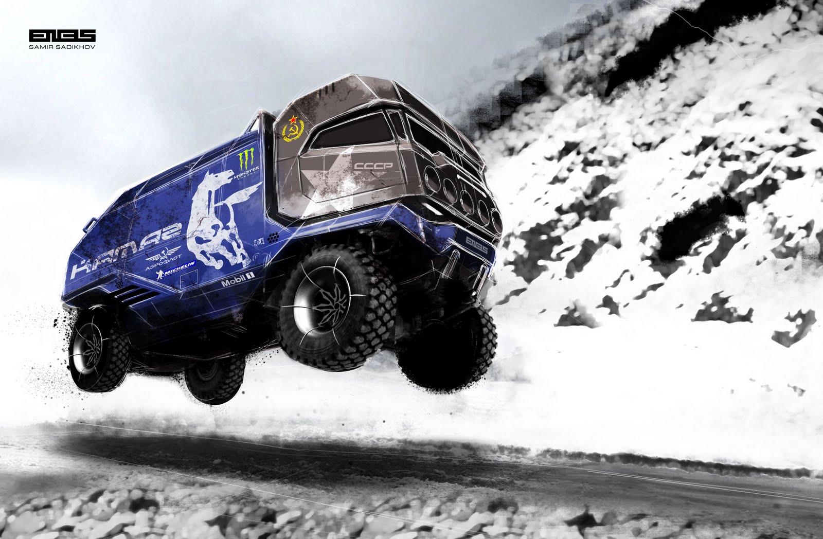 Camiones Rusos Irrompibles