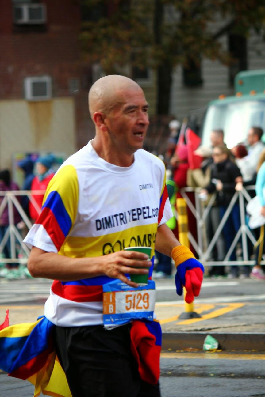 Colombia en el Maratón de la Ciudad de Nueva York 2014