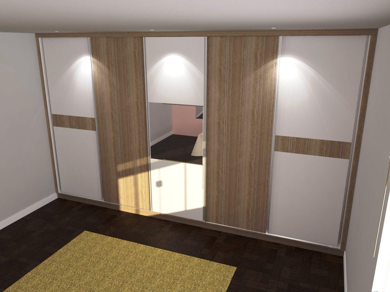 PROJETO DE MÓVEIS 3D: Guarda Roupa com entrada para Banheiro #8B7640 1600 1200
