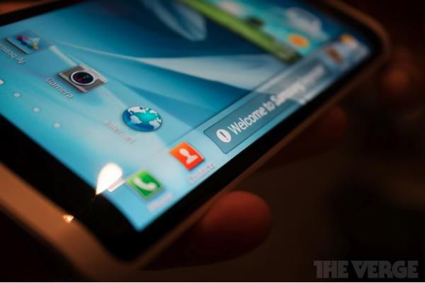 Llegan las pantallas flexibles YOUM de la mano de Samsung