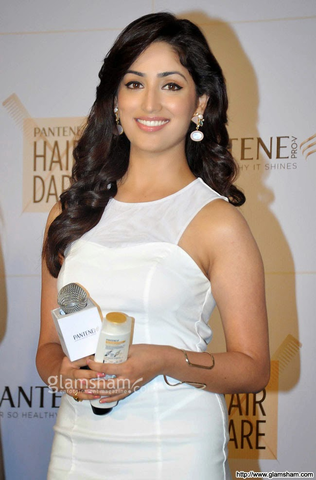 Yami Gautam in white dress