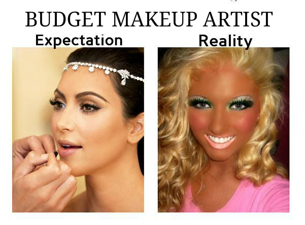 Makeup Artist cheap me to you