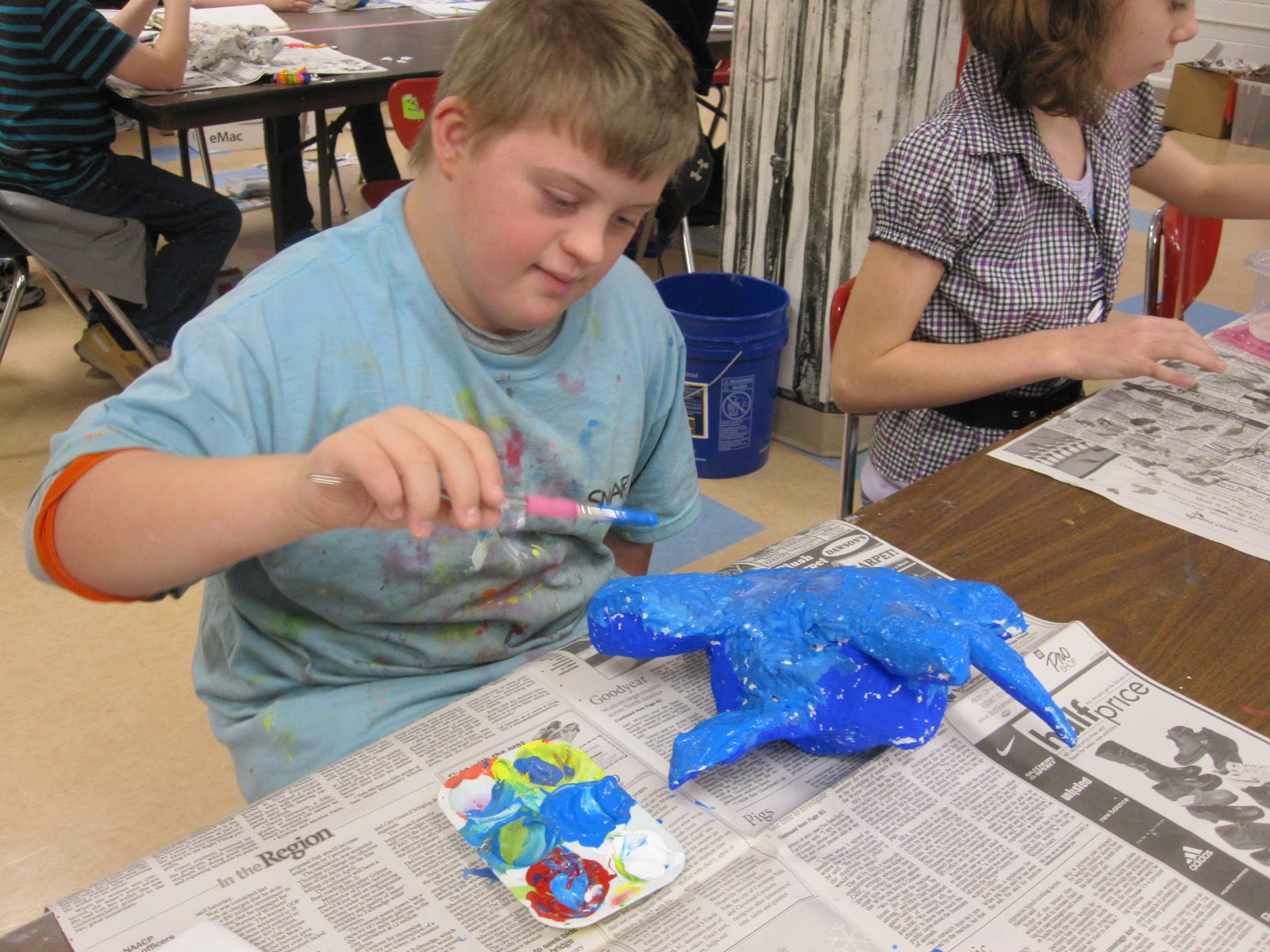 ... and Hartville Elementary Art: 5th Grade Oaxacan Animals, Paper Mache