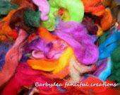Barbara usa la lana cardata di ElenaRegina wool