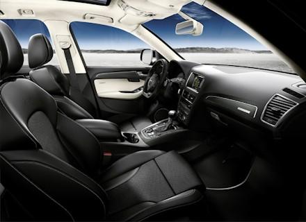novo Audi SQ5 2014 interior