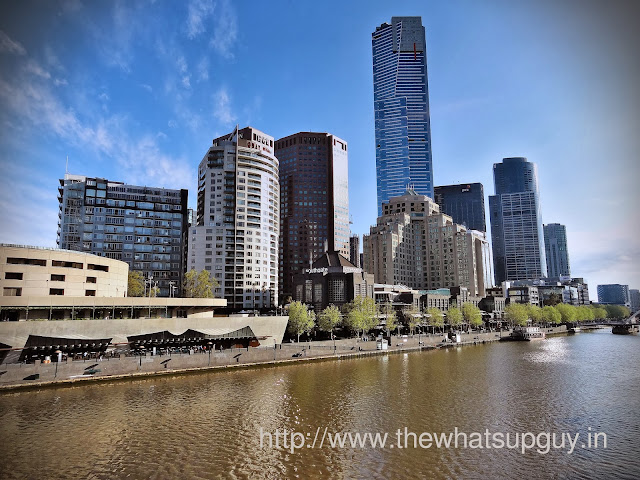 City beside the Yarra river